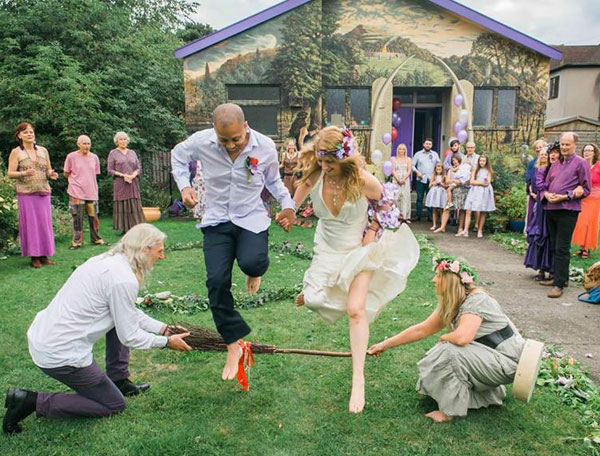Jumping The Broom Goddess Temple Weddings